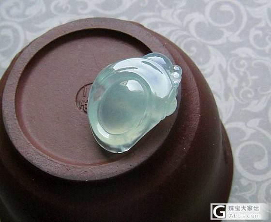 【美心】6.18上新---大小冰种佛公、冰种蓝花貔貅玉璧_翡翠