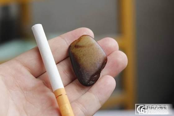 籽料原石3块超级实惠~青白青花加红皮_传统玉石