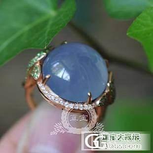 """【真宝】铜雀""""春""""深锁双娇,一对蓝紫冰镯~_翡翠"""