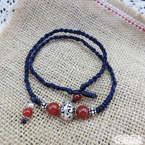 纯手工水晶首饰3件,葡萄石,玛瑙,泰银。。。_宝石