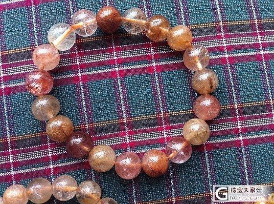 求购一串发晶,彩发或者铜发,或者钛晶_宝石