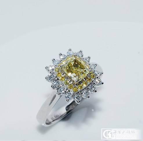 另有玄机 最新款克拉黄钻出货了  很黄很暴力_钻石