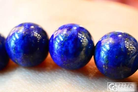10mm青金石珠配纯银镂空球手串,,品质一般的入门级手串_宝石