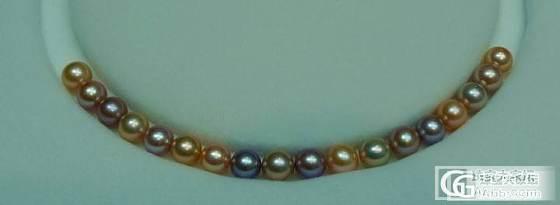 6.21:上三款金珠吊坠 刚配的三条混彩手链_有机宝石