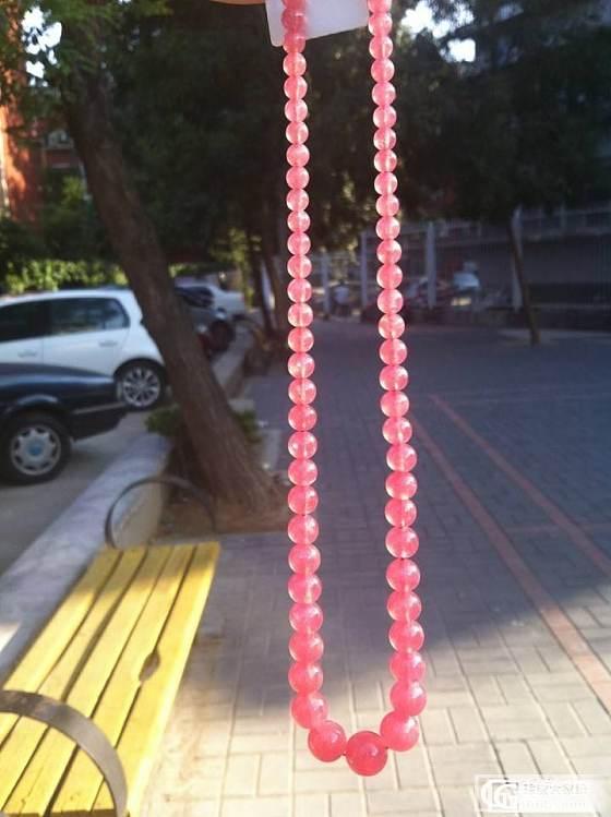 晒晒收到的宝贝碧玺,顺带石榴石和红纹(更新了碧玺和红纹阳光下的照片)_碧玺