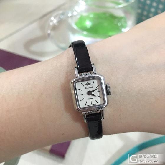 心心念念好久的小方表,终于找到你_手表