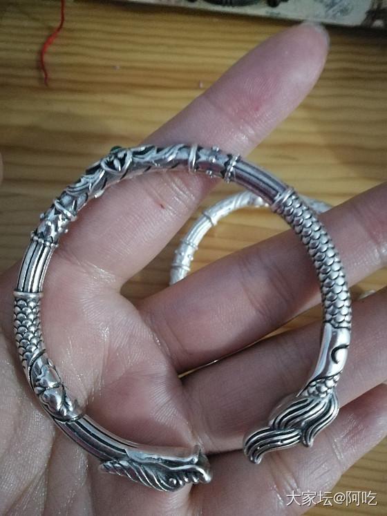 龙与狐狸降价亏转,550包邮_手镯银