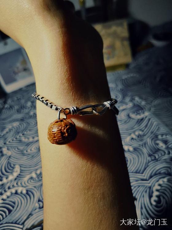 银手链+小篮子,我好喜欢呀❤️❤️_核桃银