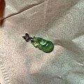 葡萄石雕刻件吊坠,钻石小鸟正品K金项链