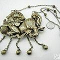 真真极具个性的大狮子老银锁