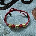 送妈妈滴新年礼物——福寿平安转运珠手绳