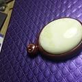 小叶紫檀镶白蜜银丝