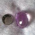 88.5ct色好全净的紫锂辉石 收藏级别哦
