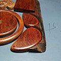 小叶紫檀手镯53-8、平安扣、牌子、随形、灵芝
