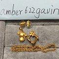 蜜蜡龙牌,美凝扭绳手链,银镯子,周生生大眼猴