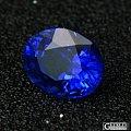 2.56ct皇家蓝蓝宝石 色浓郁 精细切工火彩完美