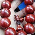 小叶紫檀2.0手串两串,高油密,少棕眼,满星