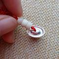 陈子原创 手机小挂件S999纯银元宝象牙果红绳 包优盘等各种挂链 手工DIY