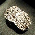 2克拉钻石白金蕾丝镶嵌古董戒指5楼回帖补图,留不留?