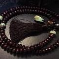 自己配的紫檀绿松石108佛珠。欢迎指教!