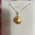 一枚很喜欢的金珠珠