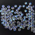 【裕发首饰】冰种强光月光石5-6MM可镶嵌戒指吊坠耳钉售裸石