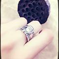 狮子狗银戒指
