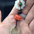 晒晒之前的搭配,珊瑚老鼠,最下面的一剪梅都被剪走了