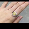 想入一颗40分左右黄钻,圆形或心形,镶嵌出心形戒指,不知预算整个下来要多少?!