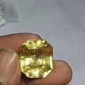 斯里兰卡天然黄色蓝宝石