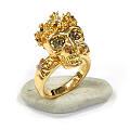 这两款骷髅头的耳环和戒指怎么样?