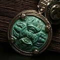 什么是绿松石雕件降魔杵?