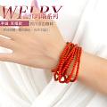 红色好正好美,当然了手漂亮就更美了