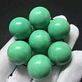 优化绿松石,盘玩变色,遇水变色