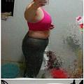 天涯看到一个减肥前后对比