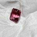新入手的公主方碧玺,准备拿去镶个戒指,马上圣诞节,给老婆一个惊喜。