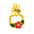 羽冠珠宝Crestdiamond——精品黄金吊坠饰品