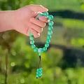 我想购买绿松石,究竟该如何搭配我的串珠?