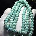 绿松石回纹珠108念珠📿️!这样的一串很难得哦
