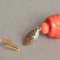 莫莫红珊瑚雕刻鼓珠
