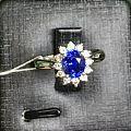 经典戴妃款皇家蓝宝石戒指美货欣赏