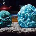 绿松石雕件之鱼与熊掌选谁?