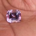 17.8克拉紫锂辉一颗,颜色还不错,比较中意