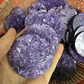 紫龙晶大量是这样的