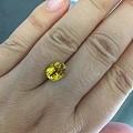 很便宜的黄色蓝宝石