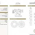 1克拉,D色,IF净度,3EX,无荧光,GIA证书