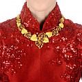 投票投票!周生生婚嫁款黄金项链你喜欢哪个?