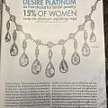 本期的RAPAPORT 杂志,封面及多篇文章推铂金珠宝