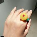 自己diy设计的戒指,省钱方便
