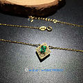 祖母绿项链